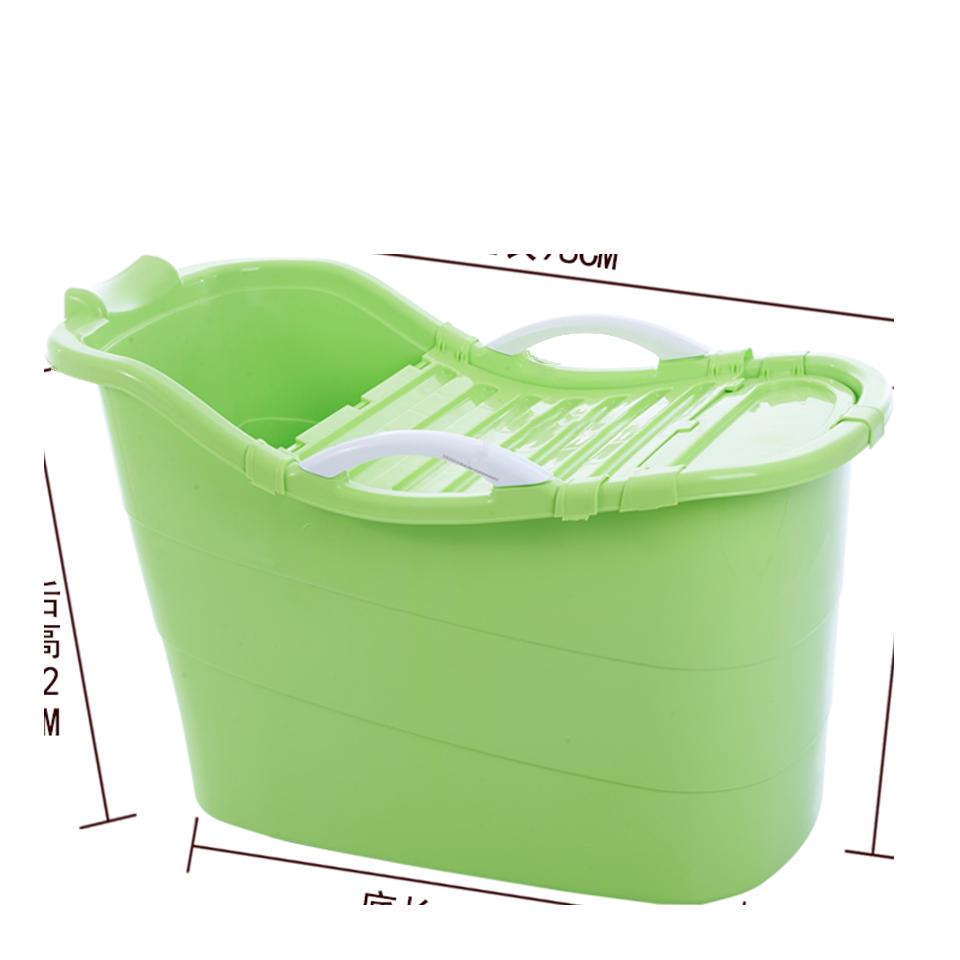 塑膠浴桶 泡澡桶 推薦成人兒童洗澡桶超大號沐浴桶加厚