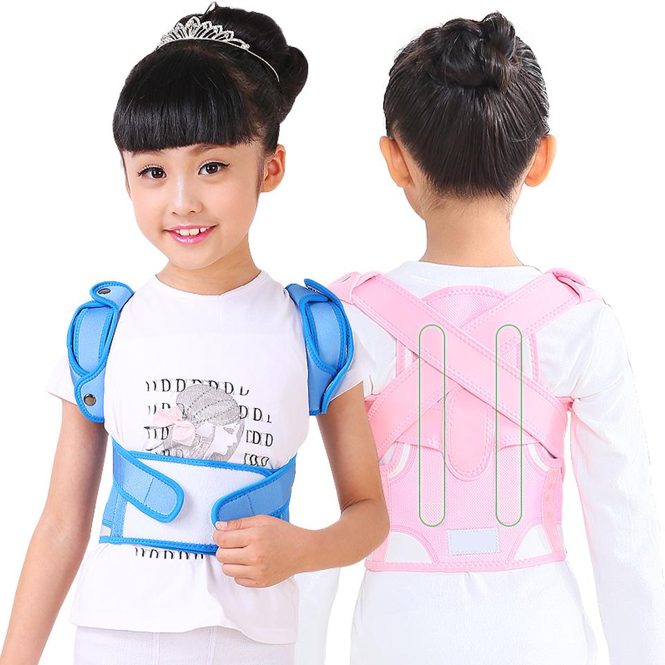 兒童駝背矯正帶 脊椎護腰矯正帶 防駝背矯姿帶防護腰椎矯正帶