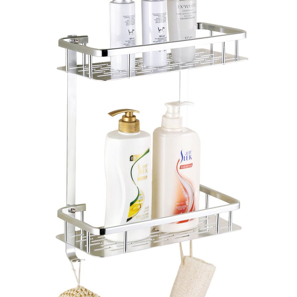 浴室置物架 衛生間 廁所洗手間洗漱台收納架子壁掛式免打孔