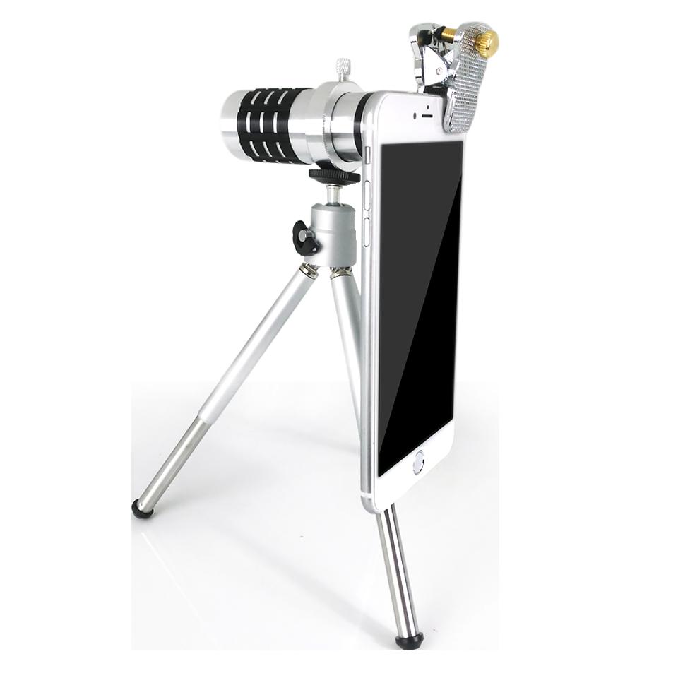 手機望遠攝像鏡頭 高清長焦廣角拍照單反外置攝像頭