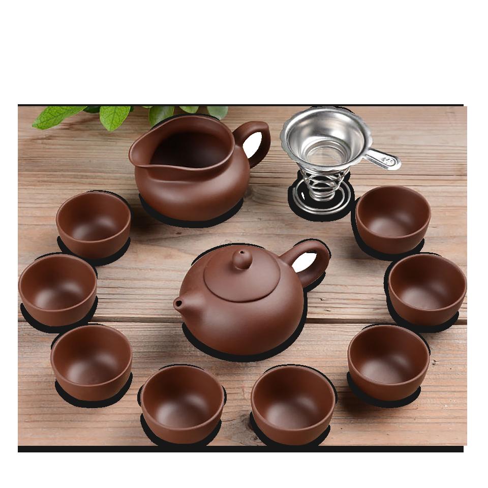 茶具組 紫砂茶具 陶瓷 中式茶具組整套茶壺茶杯茶道