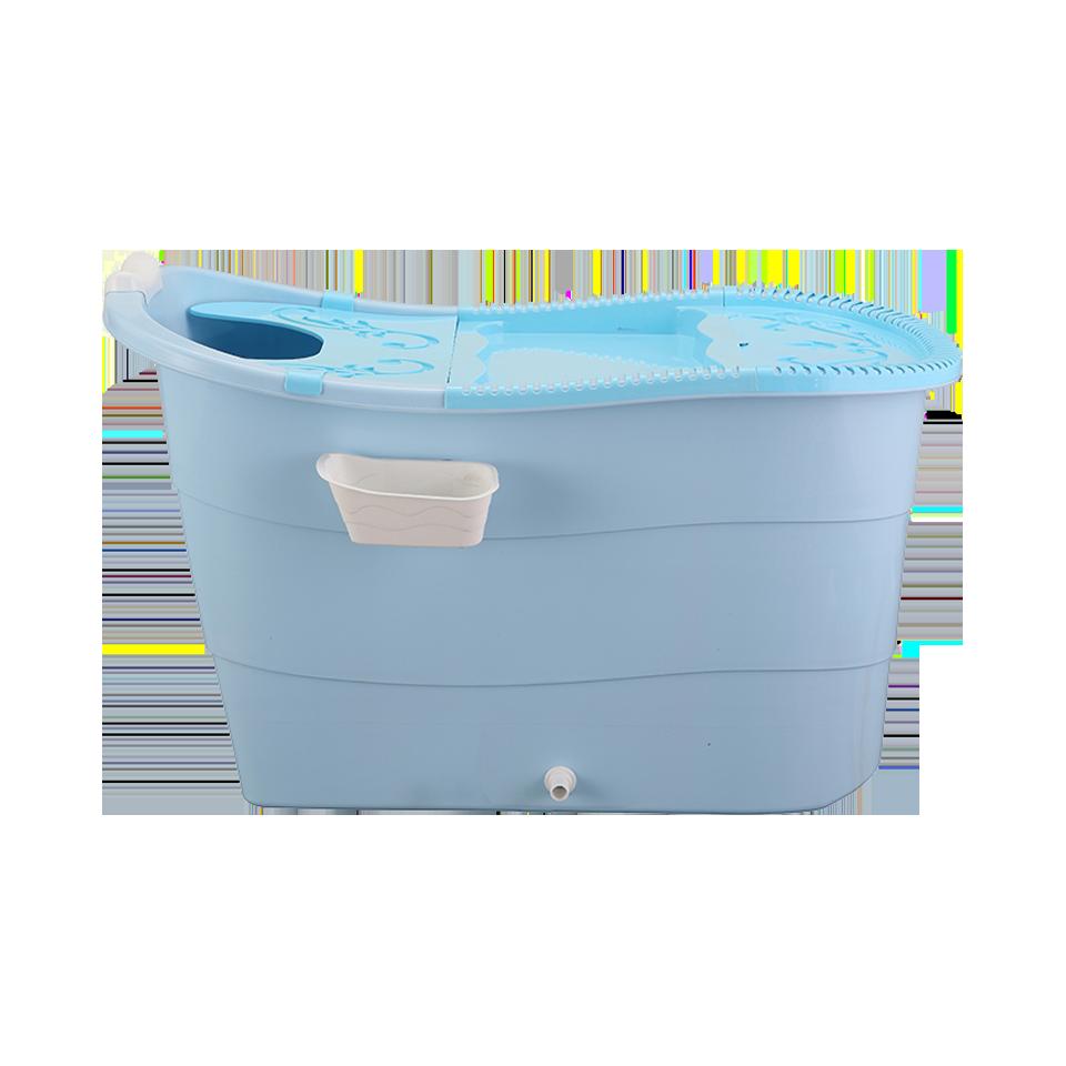 塑膠浴桶 泡澡桶推薦 超大號成人洗澡桶加厚浴盆洗澡盆