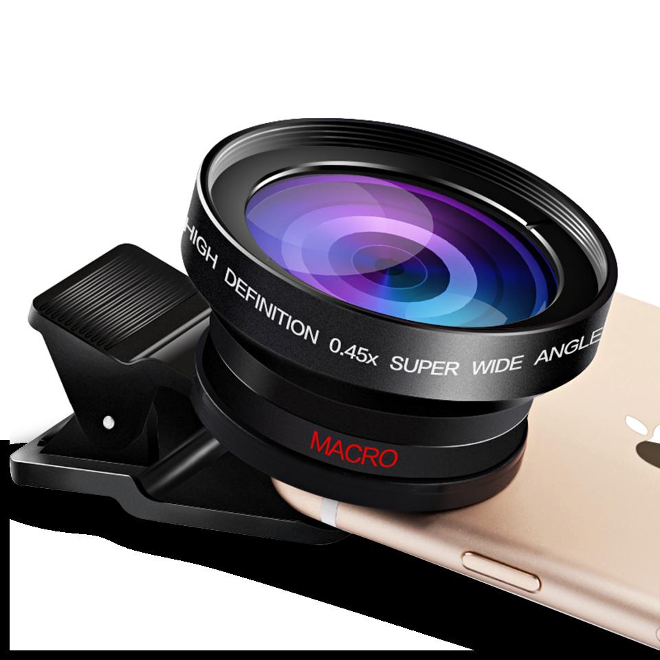 廣角鏡頭 手機鏡頭 通用單反攝像頭外置微矩魚眼鏡頭