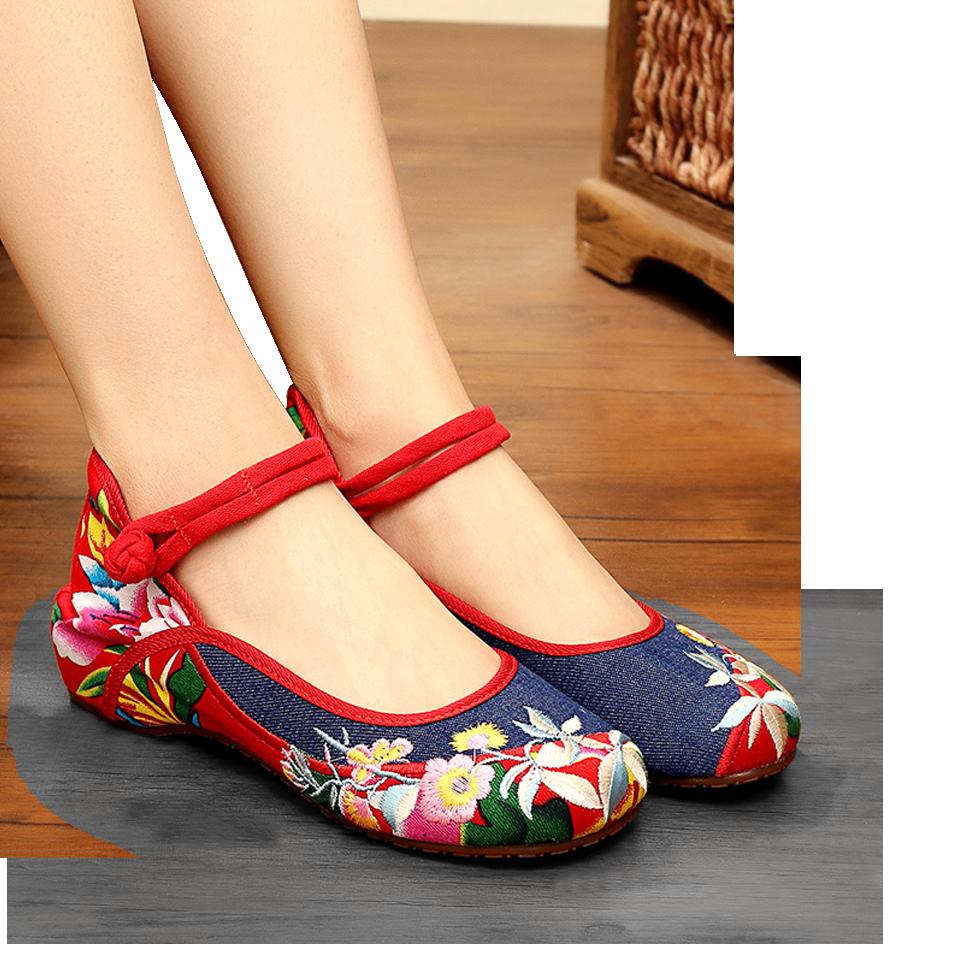 台南民族風 繡花鞋 創意手工繡花鞋 布鞋