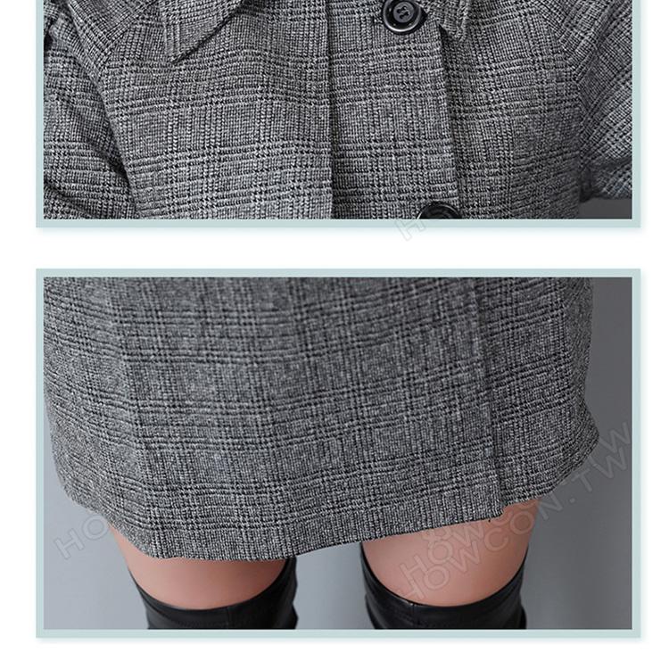 長版大衣,大衣外套,小香風毛呢外套,雙排扣毛呢外套,毛呢大衣,女大衣,女性長大衣,大衣穿搭,韓版毛呢外套,韓版大衣,長大衣